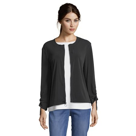 Betty Barclay Blouson Jacket Black  - Click to view a larger image