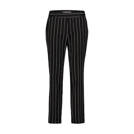 Betty Barclay Pin Stripe Trousers Black  - Click to view a larger image