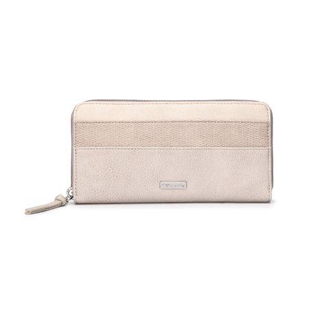 Tamaris Bags Khema Medium Zip Wallet Cream  - Click to view a larger image