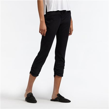 Sandwich High Waist Skinny Jeans Black  - Click to view a larger image