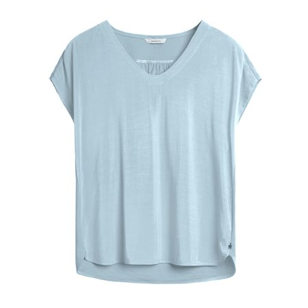 Sandwich Short Sleeve Top Blue  - Click to view a larger image