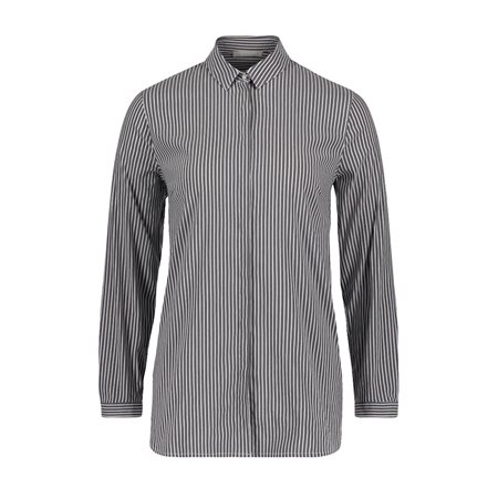 Betty & Co Striped Shirt Blue  - Click to view a larger image