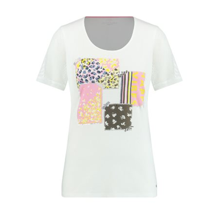 Gerry Weber Top With An Appliqué White  - Click to view a larger image