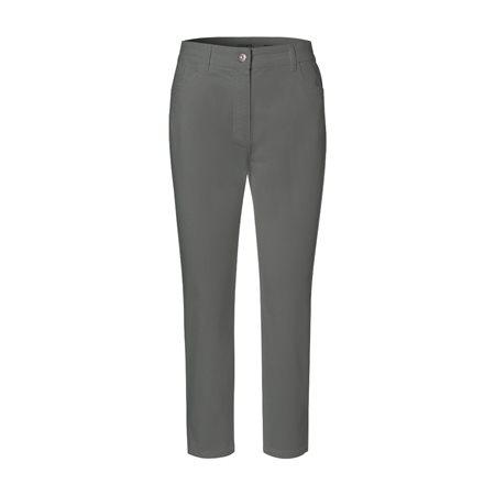 Olsen Mona Slim Cropped Trouser Khaki  - Click to view a larger image