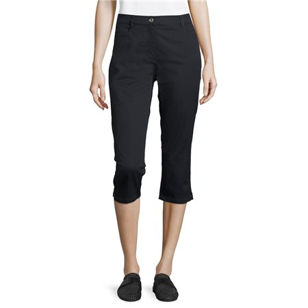 Betty Barclay Cropped Jeans Navy  - Click to view a larger image