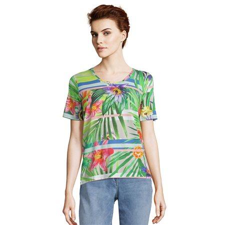 965a28e04f4ed Betty Barclay - Tropical Print To Green