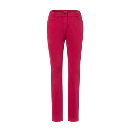 Olsen Mona Slim Jeans Red  - Click to view a larger image
