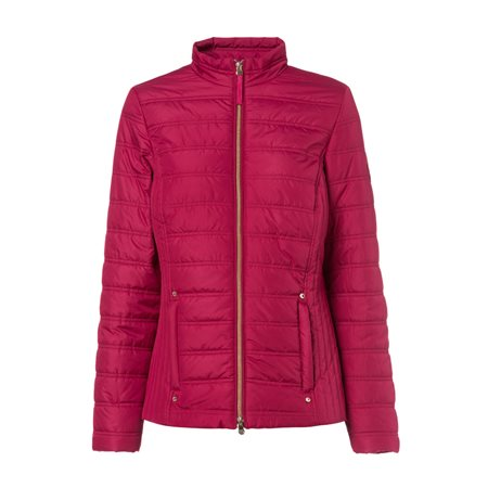 Olsen Quilted Jacket Red  - Click to view a larger image