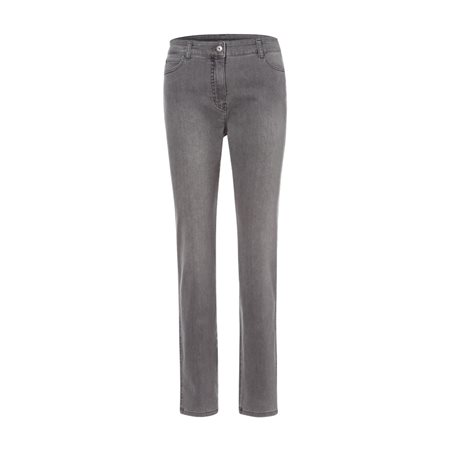 Olsen Mona Slim Jeans Grey  - Click to view a larger image