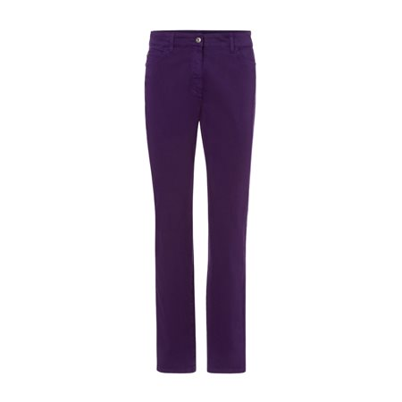 Olsen Mona Slim Jeans Purple  - Click to view a larger image