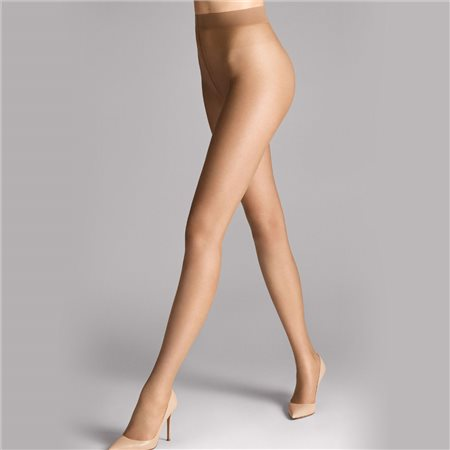 Wolford Nude 8 Tights Caramel  - Click to view a larger image