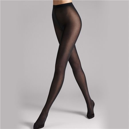 Wolford Velvet De Luxe 50 Tights Black  - Click to view a larger image