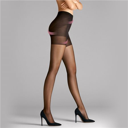 Wolford Synergy 20 Push-Up Tights Black  - Click to view a larger image