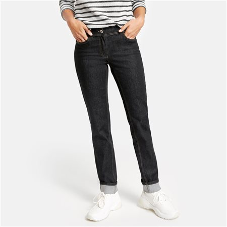 Taifun Skinny Jeans Black  - Click to view a larger image