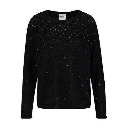 Taifun Sparkle Jumper Black  - Click to view a larger image