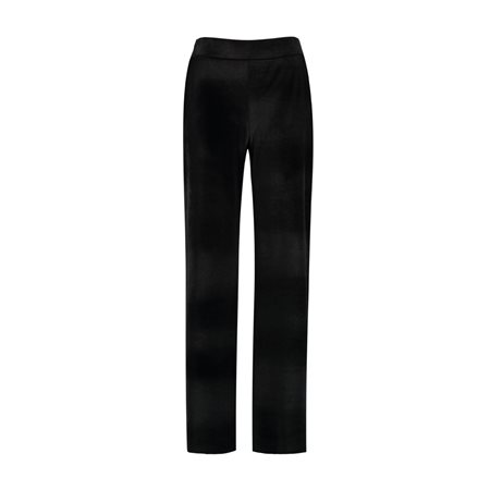 Taifun Dressy Velvet Trouser Black  - Click to view a larger image