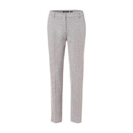 Olsen Lisa Crease Front Trouser Light Grey  - Click to view a larger image