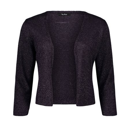 Vera Mont Sparkle Cardigan Purple  - Click to view a larger image