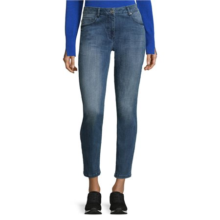 Betty Barclay Five Pocket Jean Blue  - Click to view a larger image