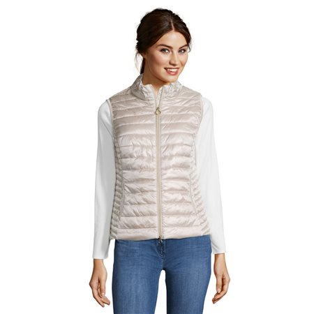 Betty Barclay Quilted Gilet Beige  - Click to view a larger image
