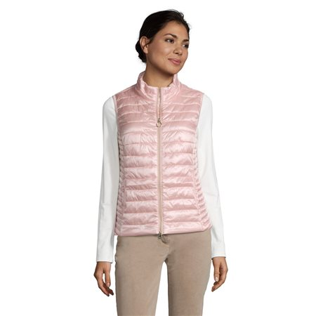 Betty Barclay Quilted Gilet Pink  - Click to view a larger image