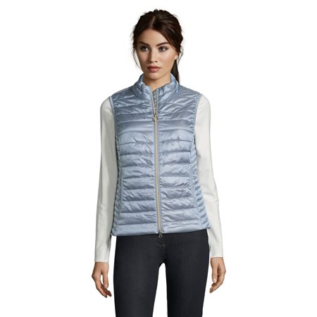 Betty Barclay Quilted Gilet Light Blue  - Click to view a larger image