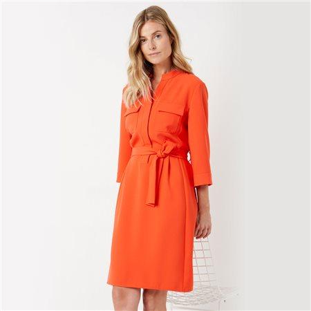 Gerry Weber Tie Belt Dress Orange  - Click to view a larger image