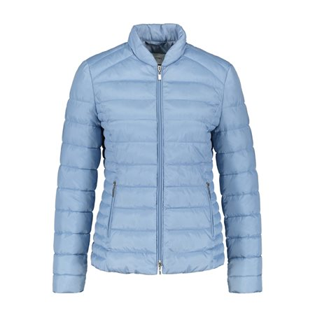 Gerry Weber Short Quilted Coat Blue  - Click to view a larger image