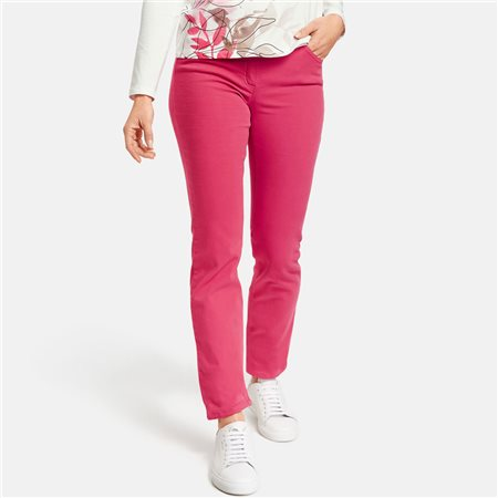 Gerry Weber Best For Me Jeans Fuschia  - Click to view a larger image