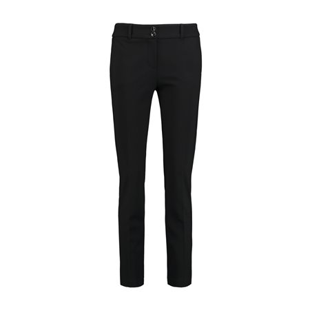Taifun Skinny Fit Trousers With Stretch Black  - Click to view a larger image