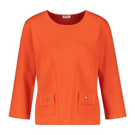 Gerry Weber Pocket Detail Jumper Orange  - Click to view a larger image