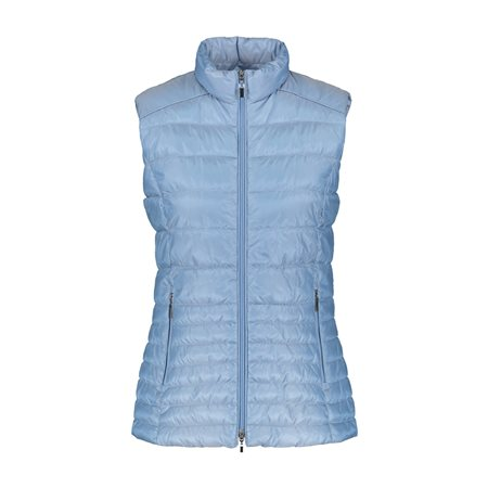 Gerry Weber Quilted Gilet Blue  - Click to view a larger image