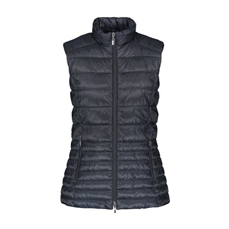 Gerry Weber Quilted Gilet Navy  - Click to view a larger image