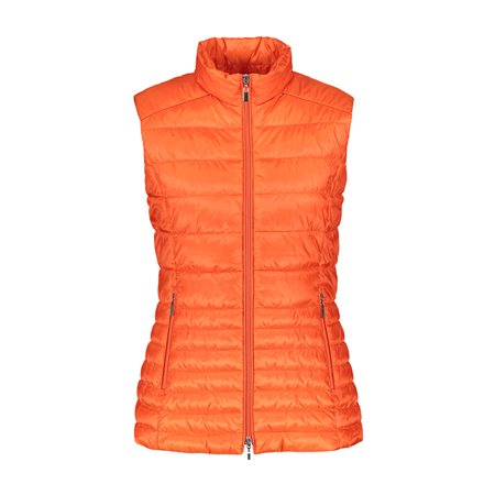 Gerry Weber Quilted Gilet Orange  - Click to view a larger image
