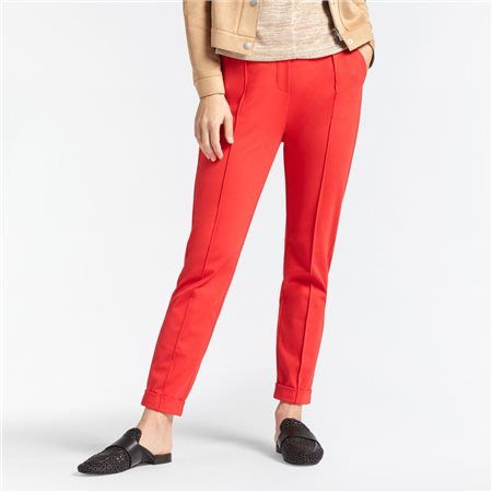 Sandwich Jersey Trouser Red  - Click to view a larger image
