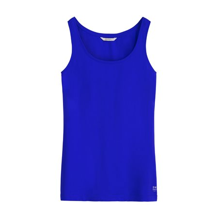 Sandwich Vest Top Blue  - Click to view a larger image