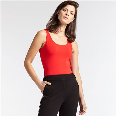 Sandwich Vest Top Red  - Click to view a larger image
