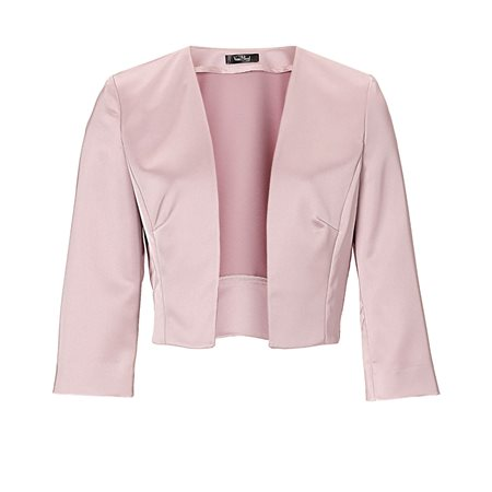 Vera Mont Satin Jacket Pink  - Click to view a larger image