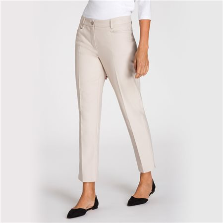 Olsen Smart Lisa Trouser Beige  - Click to view a larger image