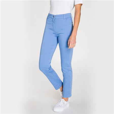 Olsen Mona Slim 5 Pocket Jeans Blue  - Click to view a larger image