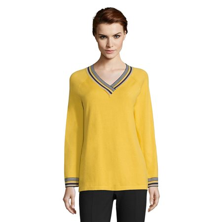 Betty Barclay Sporty Jumper Yellow  - Click to view a larger image
