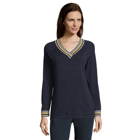 Betty Barclay Sporty Jumper Blue  - Click to view a larger image