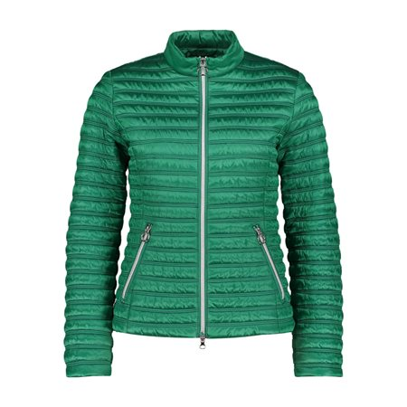 Betty Barclay Quilted Down Jacket Green  - Click to view a larger image