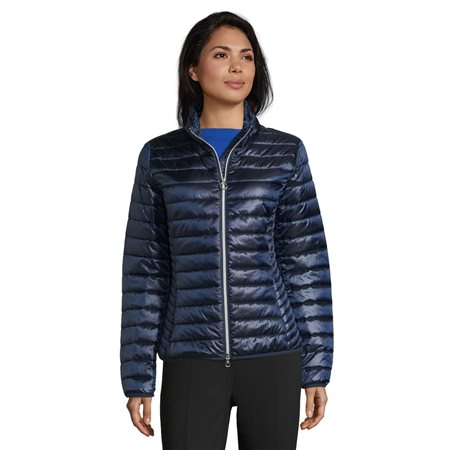 Betty Barclay Short Quilted Jacket Navy  - Click to view a larger image