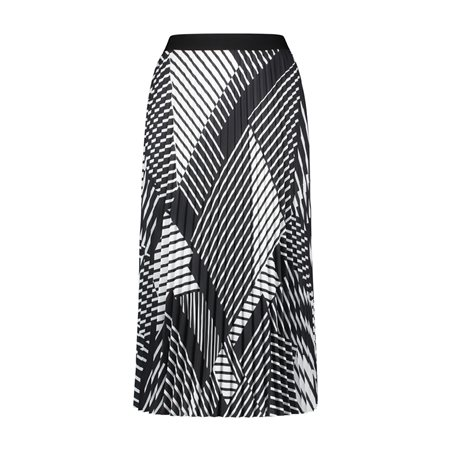 Gerry Weber Graphic Print Skirt Black  - Click to view a larger image