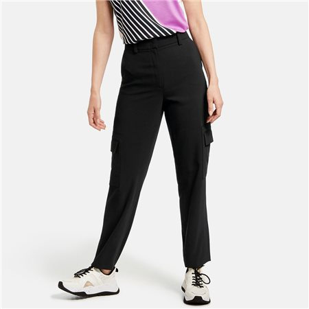 Gerry Weber Cargo Trousers Black  - Click to view a larger image