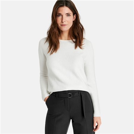 Gerry Weber Knitted Jumper Off White  - Click to view a larger image