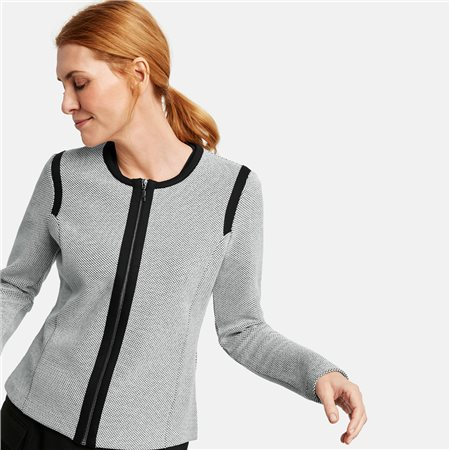 Gerry Weber Two Tone Jacket Black  - Click to view a larger image