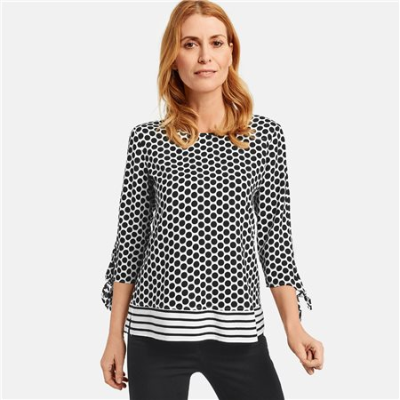 Gerry Weber Spot Blouse White  - Click to view a larger image