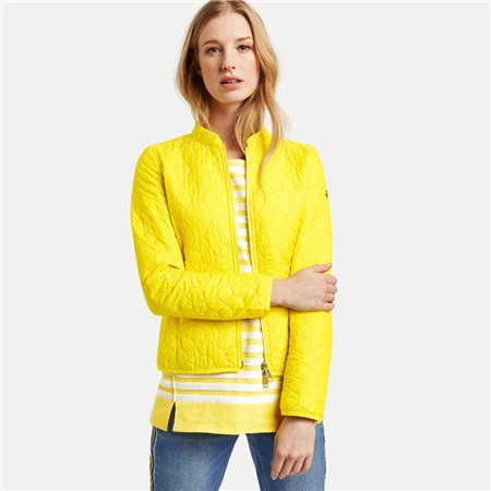 Taifun Lightly Padded Coat Yellow  - Click to view a larger image